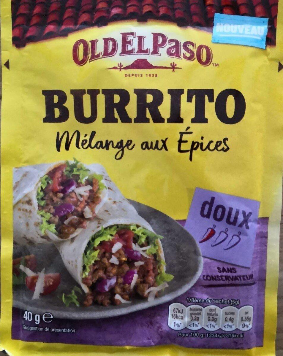 Mélange aux épices burrito - Product