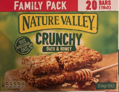 Nature Valley Oats and Honey Special Value 20 Pack - 1