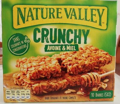 Crunchy avoine et miel - Producto - fr