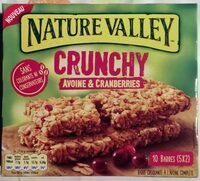 Crunchy Avoine & Cranberries - Product - fr