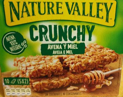 Crunchy de avena integral y miel - Producto - es