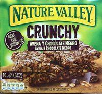 Crunchy avena y chocolate negro - Producto - fr