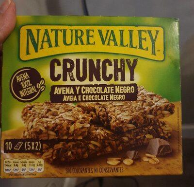 Crunchy avena y chocolate negro - Información nutricional - fr