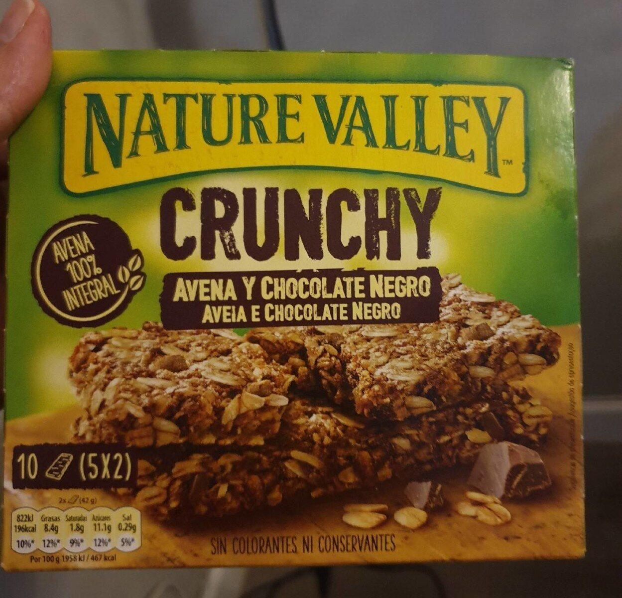 Crunchy de avena integral con chocolate negro - Informations nutritionnelles