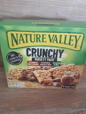 Nature Valley CRUNCHY - Nutrition facts