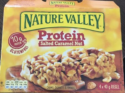 Protein Salted Caramel Nut - Produit - fr