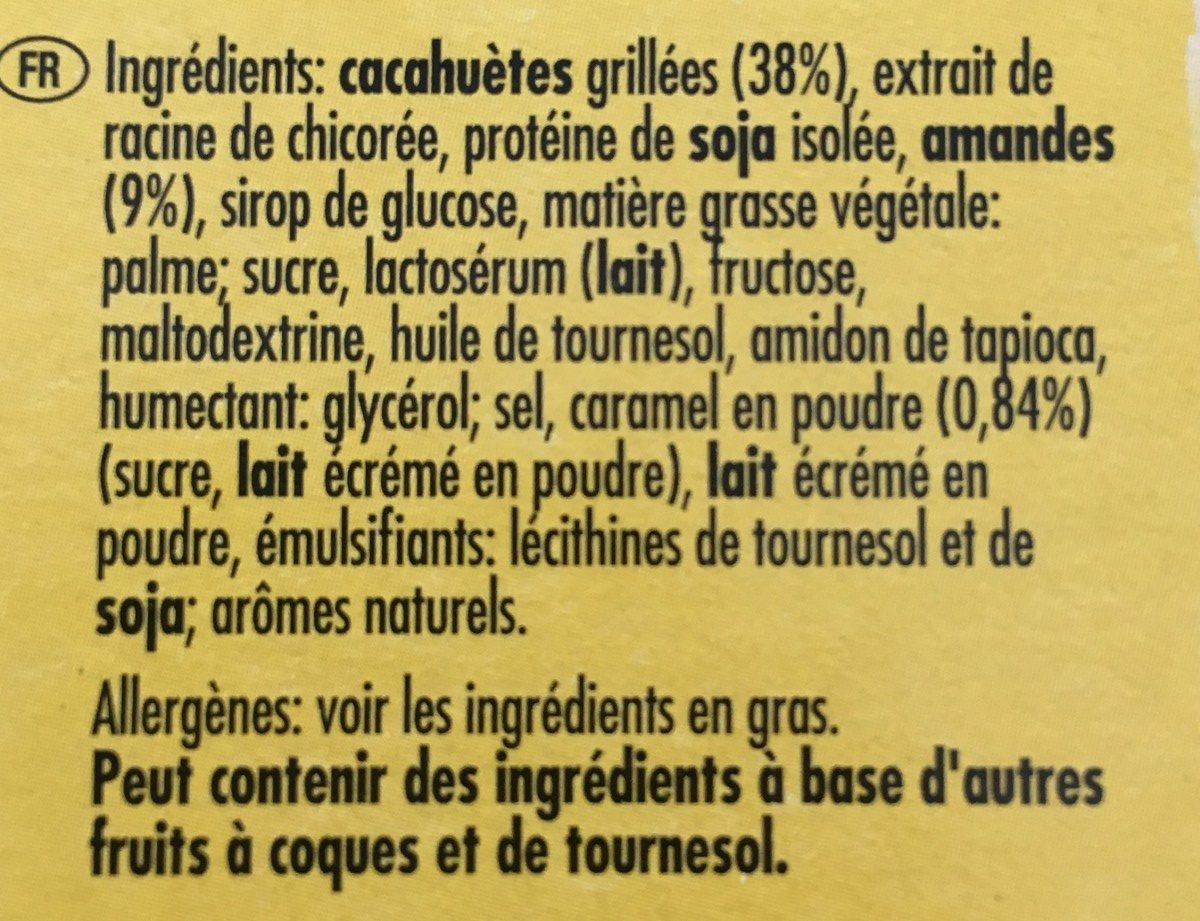 Protein Salted Caramel Nut - Ingrédients - fr