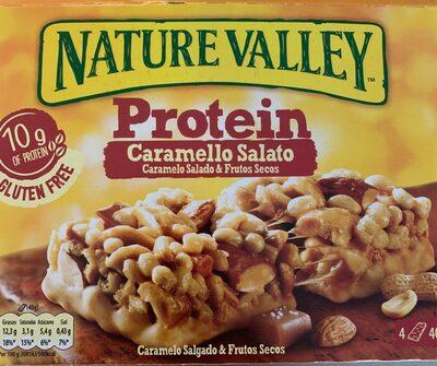 Barrette cereale caramello salato - Producto - es