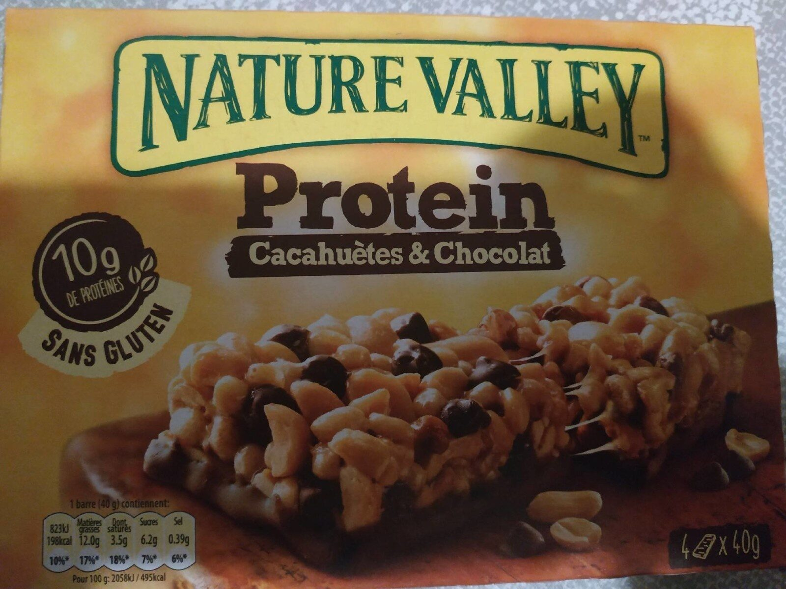 Protein Cacahuetes & Chocolat - Prodotto - fr