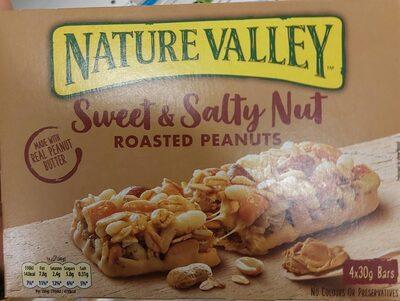 Sweat & Salty Nut Roasted Peanuts - Producto - es