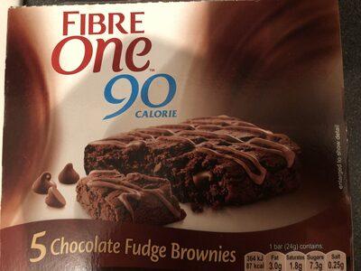 Calorie Chocolate Fudge Brownies - Producte - en
