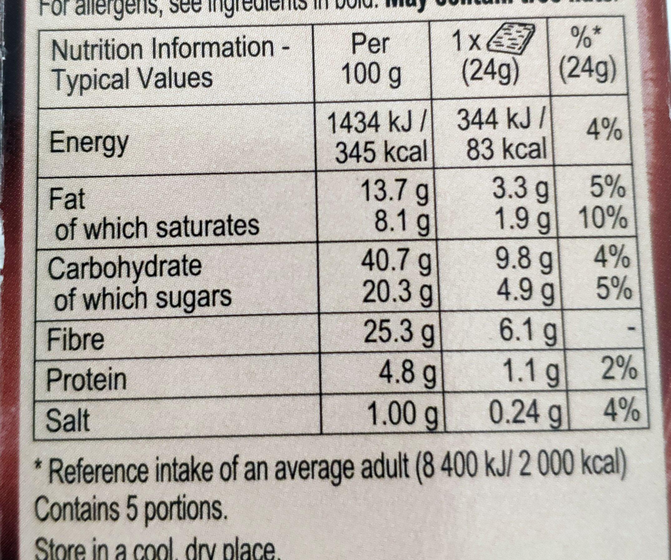 Chocolate Fudge Brownies - Valori nutrizionali - en