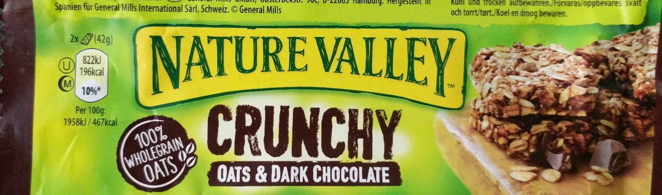 Nature Valley Crunchy Oats & Chocolate, Haferf. .. - Product - en
