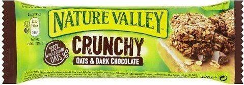 Crunchy Oats & Dark Chocolate Cereal Bar - Prodotto - en