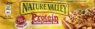 Protein Salted Caramel Nut Cereal Bar - Produit - fr