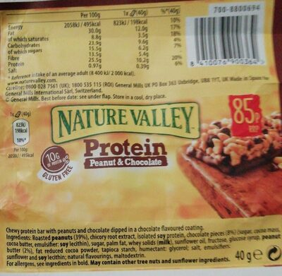 Protein peanut & chocolate - Producto - es
