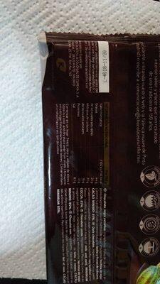 Chocolate Negro 85% - Información nutricional - es