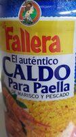 Caldo Para Paella de Marisco y Pescado - Product