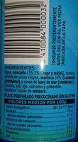 Caldo Para Paella de Marisco y Pescado - Nutrition facts