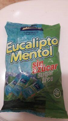 Caramelos eucalipto mentol sin azucar - Product