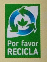 Mayonesa - Recyclinginstructies en / of verpakkingsinformatie - es