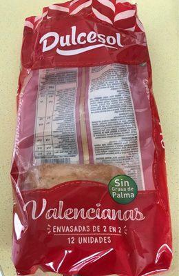 Magdalenes Valencianes - Producte