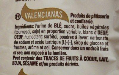 Magdalenes Valencianes - Ingredients