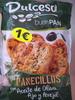 Panecillos tostados con aceite de oliva, ajo y perejil - Producto