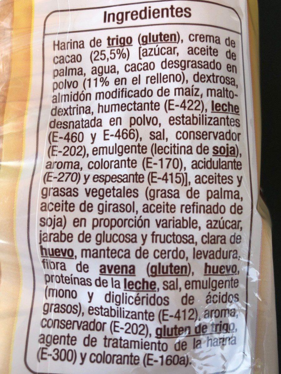 Napolitana - Ingredients - fr