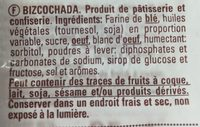Bizcochada - Ingredientes