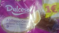 Mil hojas cacao Dulcesol - Producto