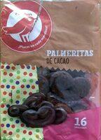 Palmeritas de cacao - Product - es