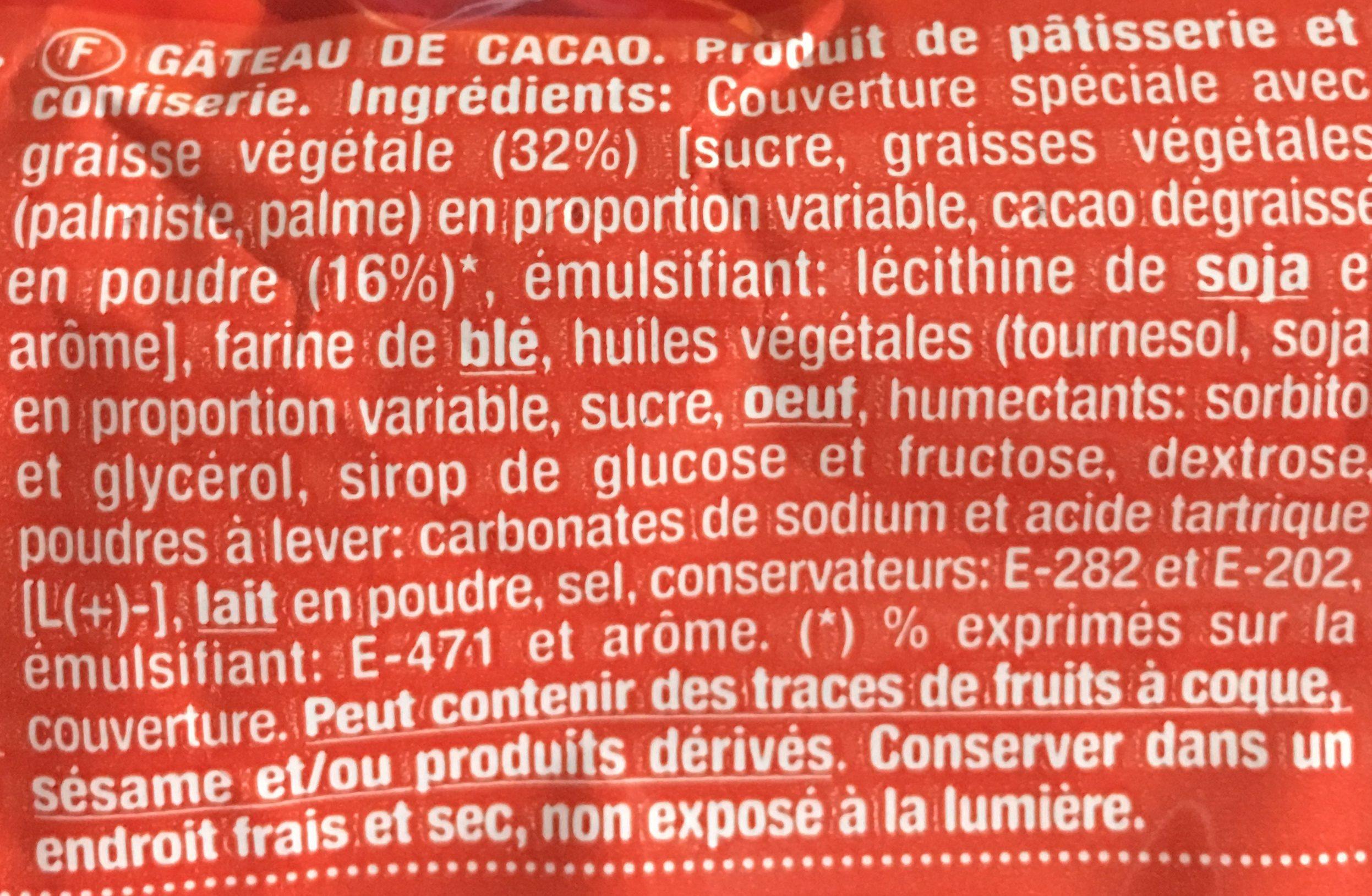 Dulcesol Llunes - Ingredientes