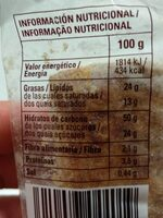 Miguelito - Nutrition facts