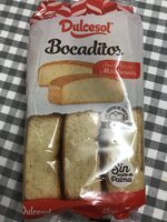 Bocaditos de bizcocho sin aceite de palma envasados de - Produit - fr