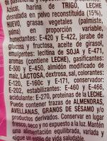 Flaminguitos - Ingredients