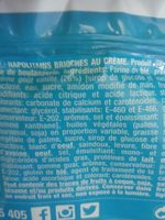 DUL-NAPOLITANA CREMA (3+2) - Ingrediënten