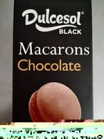 Black macarons chocolate - Informations nutritionnelles