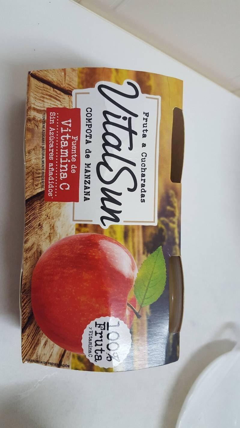 Compota de manzana vitalsun - Product