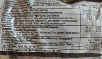FLITZ INTEGRAL 8u. DULCESOL - Informació nutricional - es