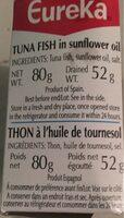 Eureka - Ingredienti - fr