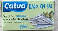 Sardinillas aceite de oliva bajas sal - Producte