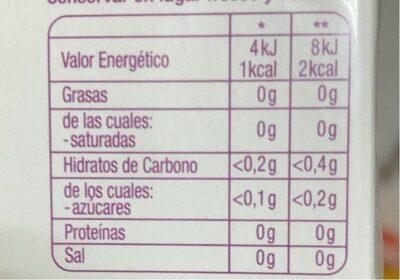 Pack Duplo Hornimans Infusió Infu-línia - Informations nutritionnelles - fr