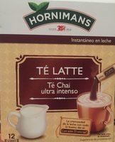 Té Latte - Producte