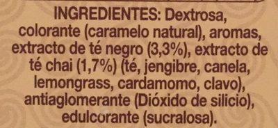 Té Latte - Ingredients