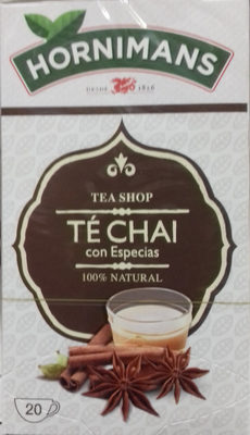 Té Chai con especias - Producto