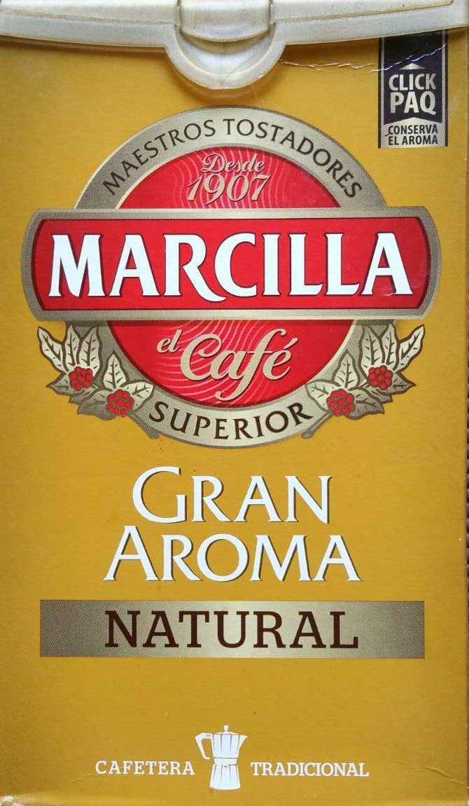 Caf 233 Molido Gran Aroma Natural Marcilla 250 G