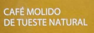 Café molido Gran Aroma Natural - Ingrédients
