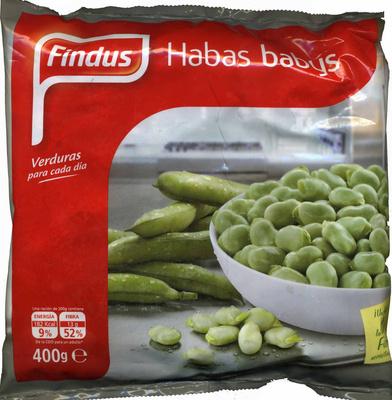 """Habas congeladas """"Findus"""" - Producto"""