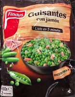 Guisantes con jamon - Product - fr